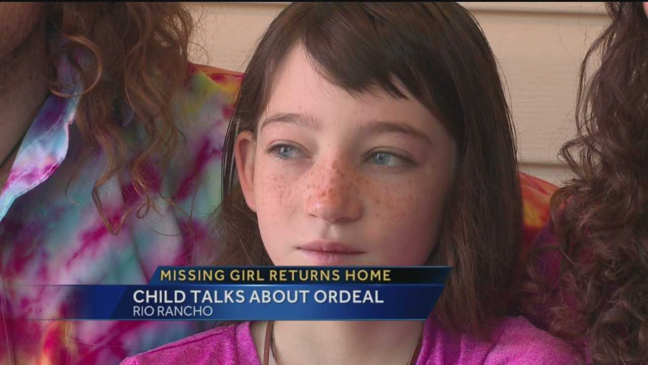 Alexandra Greenwall, 10, talks about the 3-day span in which she was missing from home.