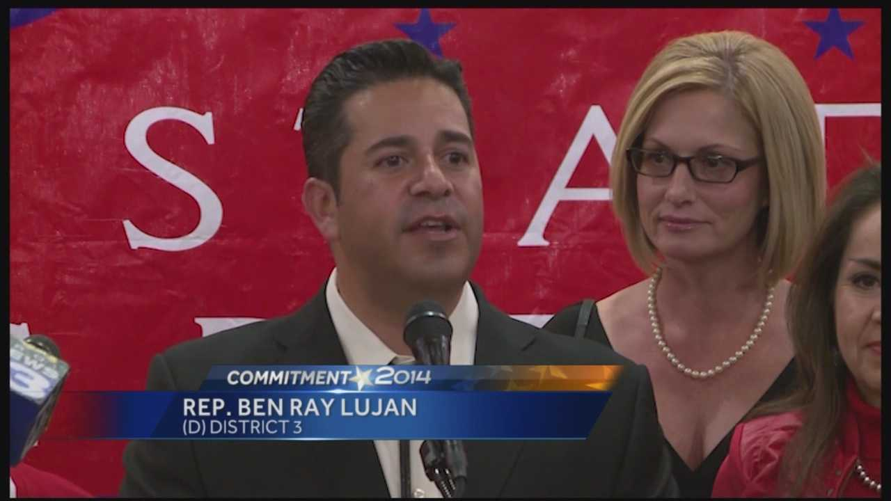 New Mexico Democrat Ben Ray Lujan will be re-elected to his position as a U.S. Representative for New Mexico's 3rd Congressional District.