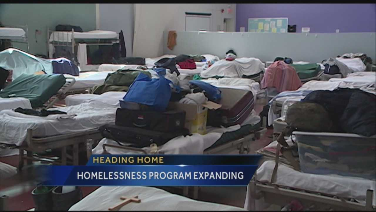 Homeless Program Expanding