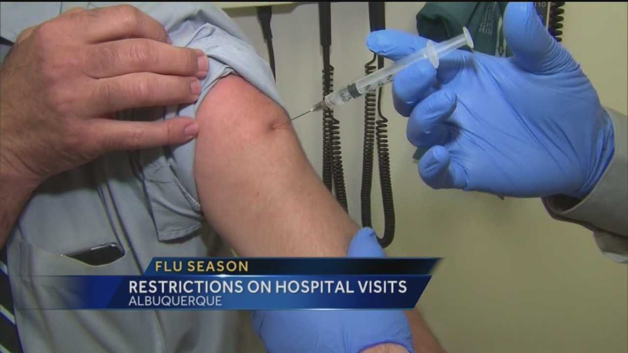Flu season has arrived and now hospitals, like Presbyterian Hospital, will have strict guidelines about visitors.