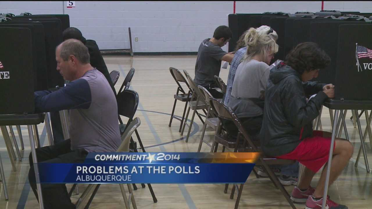 KOAT Action 7 News reporter Kirsten Swanson explores Tuesday's long lines and voting hiccups.