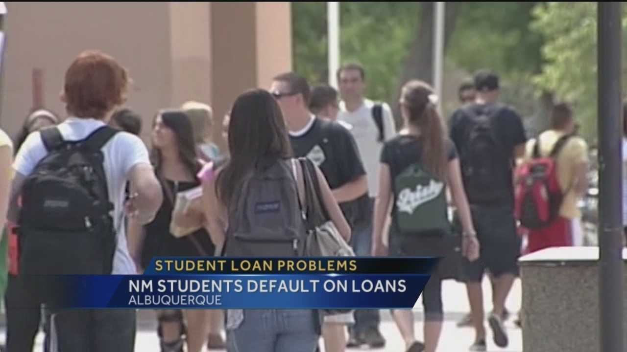 College graduates in New Mexico are having trouble paying back their student loans, according to new numbers from the Department of Education.