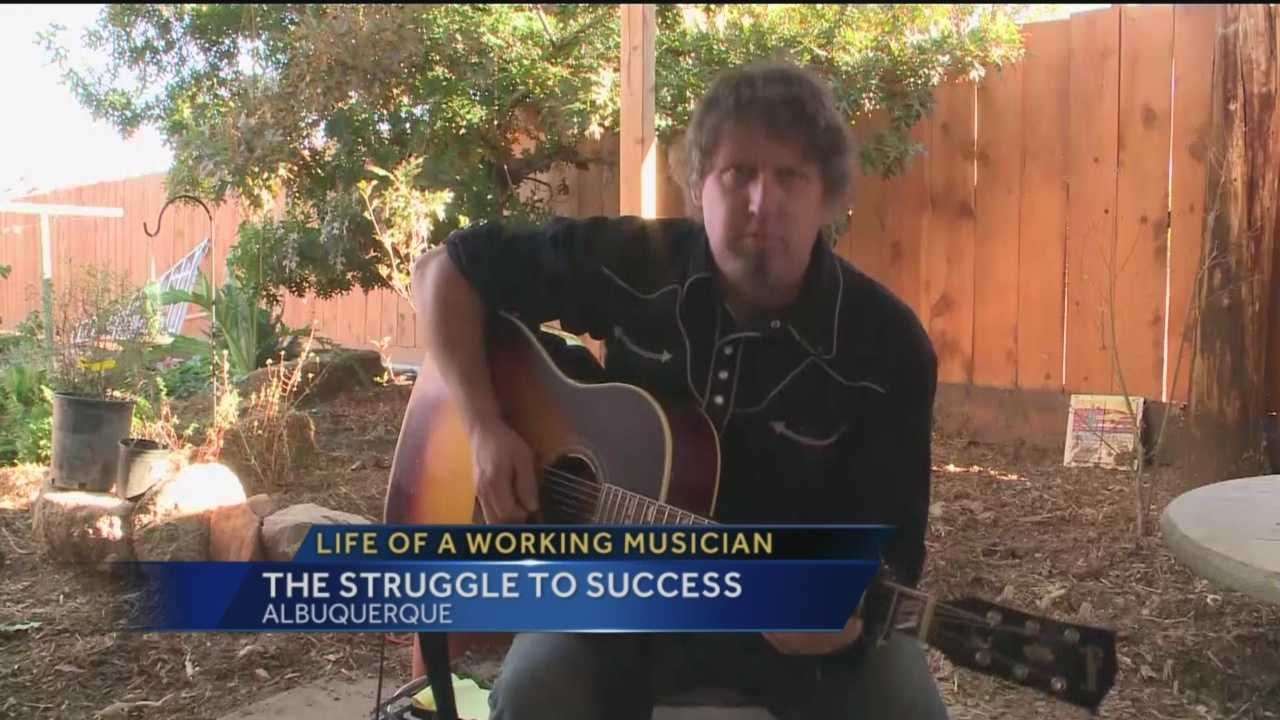 The biggest stars came out for the annual CMA awards, but not every artist gets to walk the red carpet or perform for packed stadiums. KOAT Action 7 News reporter Laura Thoren spoke to a songwriter here about the realities of the music business.