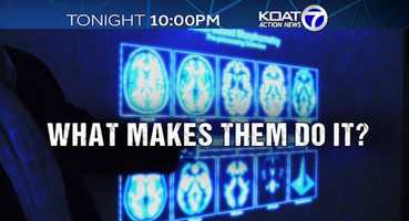 Tonight at 10 p.m. on KOAT Action 7 News: A New Mexico scientist is mapping the brains of homicidal and non homicidal boys. He found a distinct difference between the two, and believes it could help figure out how to stop young people from killing.