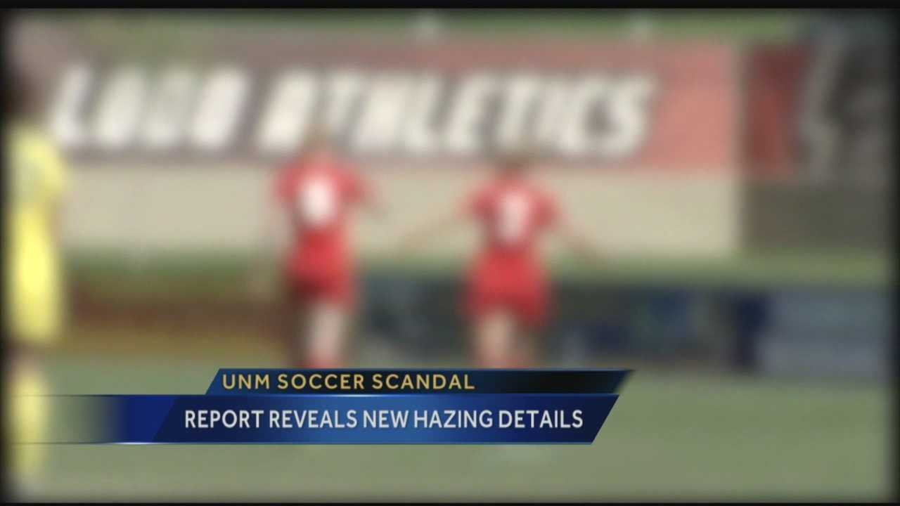 Disturbing new details have emerged in a hazing incident at the University of New Mexico.