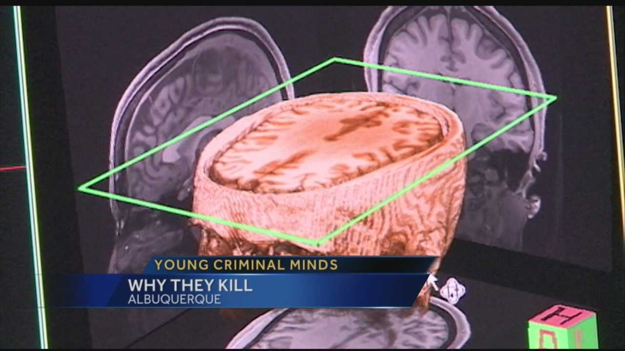 When a child decides to kill, whether it's their classmates, family members or strangers, it's hard to understand why. One New Mexico researcher says it's because their brains are different.