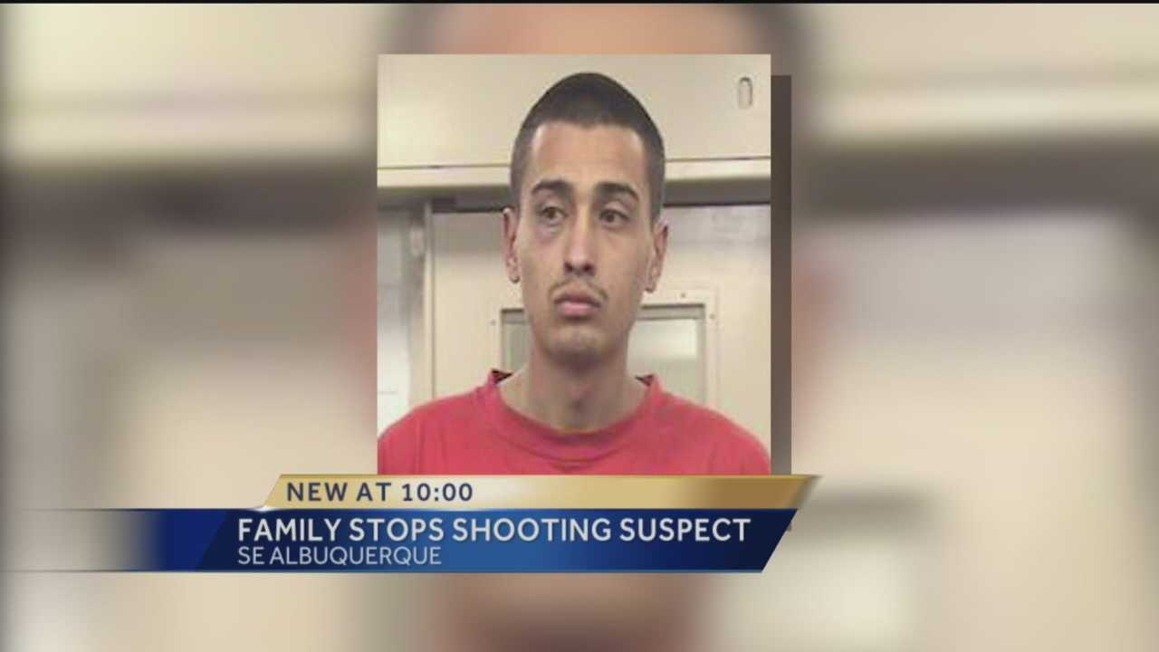 A shooting suspect may have gotten away if it wasn't for an Albuquerque family.