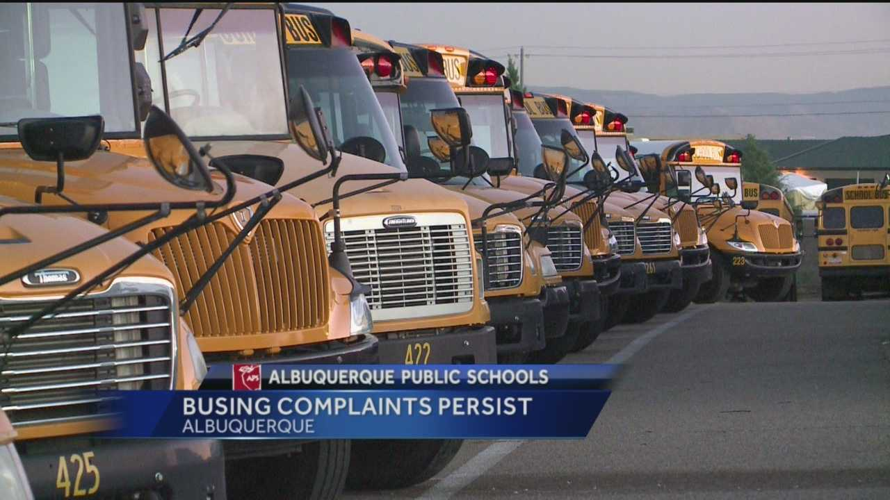 New Mexico's biggest school district is still struggling with a bus driver shortage.
