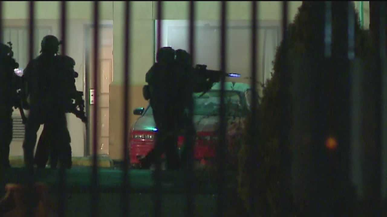 A standoff at an Albuquerque hotel is over tonight. A guest had called 911 saying someone was trying to kill him at the Luxury Inn. But when police got there, that's not what they found.