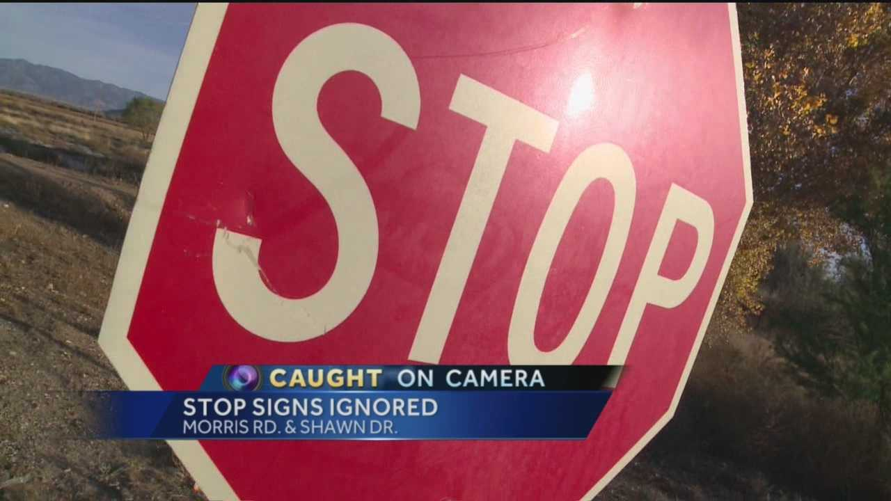 One month ago, we showed you people in Los Lunas breaking the law out in the open. Deputies promised something would be done. But four weeks later, Action 7 News reporter Laura Thoren caught people on camera again, ignoring those same stop signs.