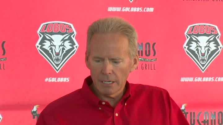 UNM's head football coach discusses a controversial call during the Boise State game. This is his full reaction from a Tuesday news conference.
