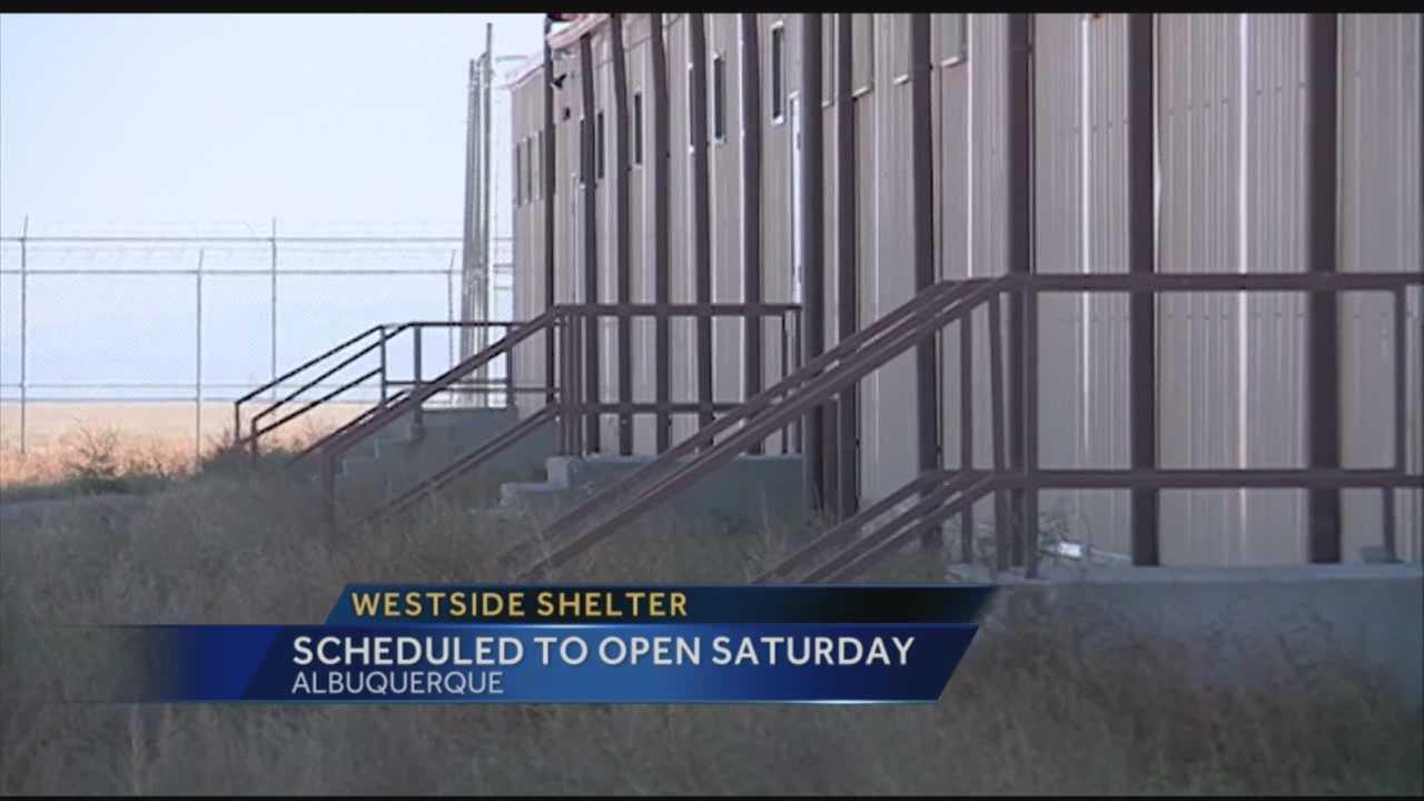 Westside Shelter Opening Saturday
