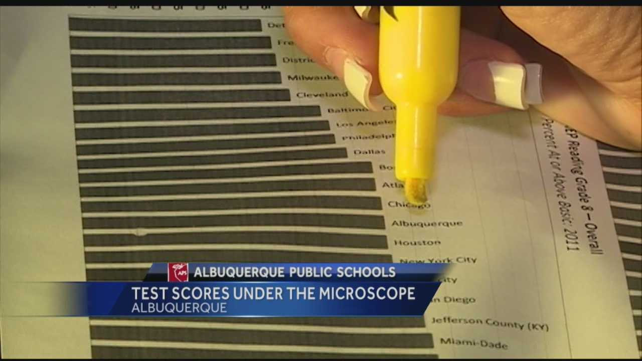 A recent outburst by an Albuquerque school board member has pushed state testing back into the spotlight. When Kathy Korte spoke against standardized tests, she cited very poor scores on new language arts tests.