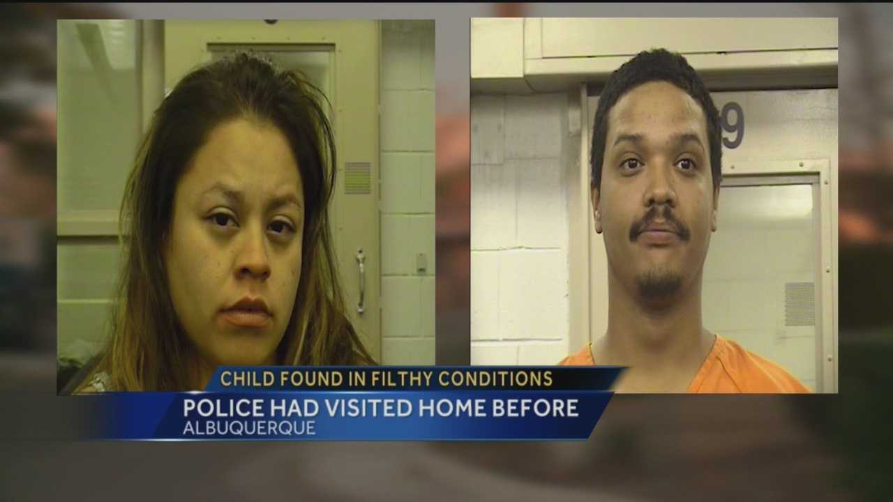 After responding to a domestic disturbance report in northeast Albuquerque on Wednesday, police said what they found inside the house was disturbing.