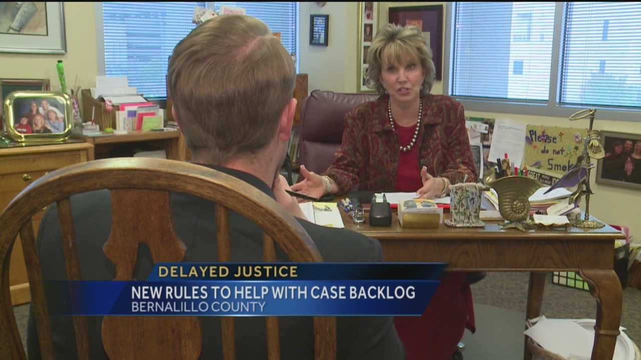 Justice can take time, especially in Bernalillo County, where the DA's office is dealing with a huge backlog.