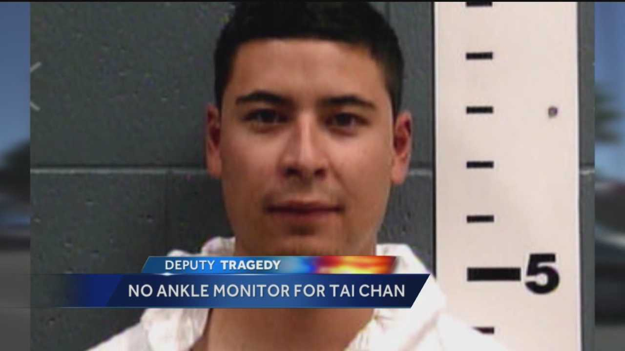A Santa Fe sheriff's deputy accused of shooting and killing a co-worker posted a $600,000 bond this week.
