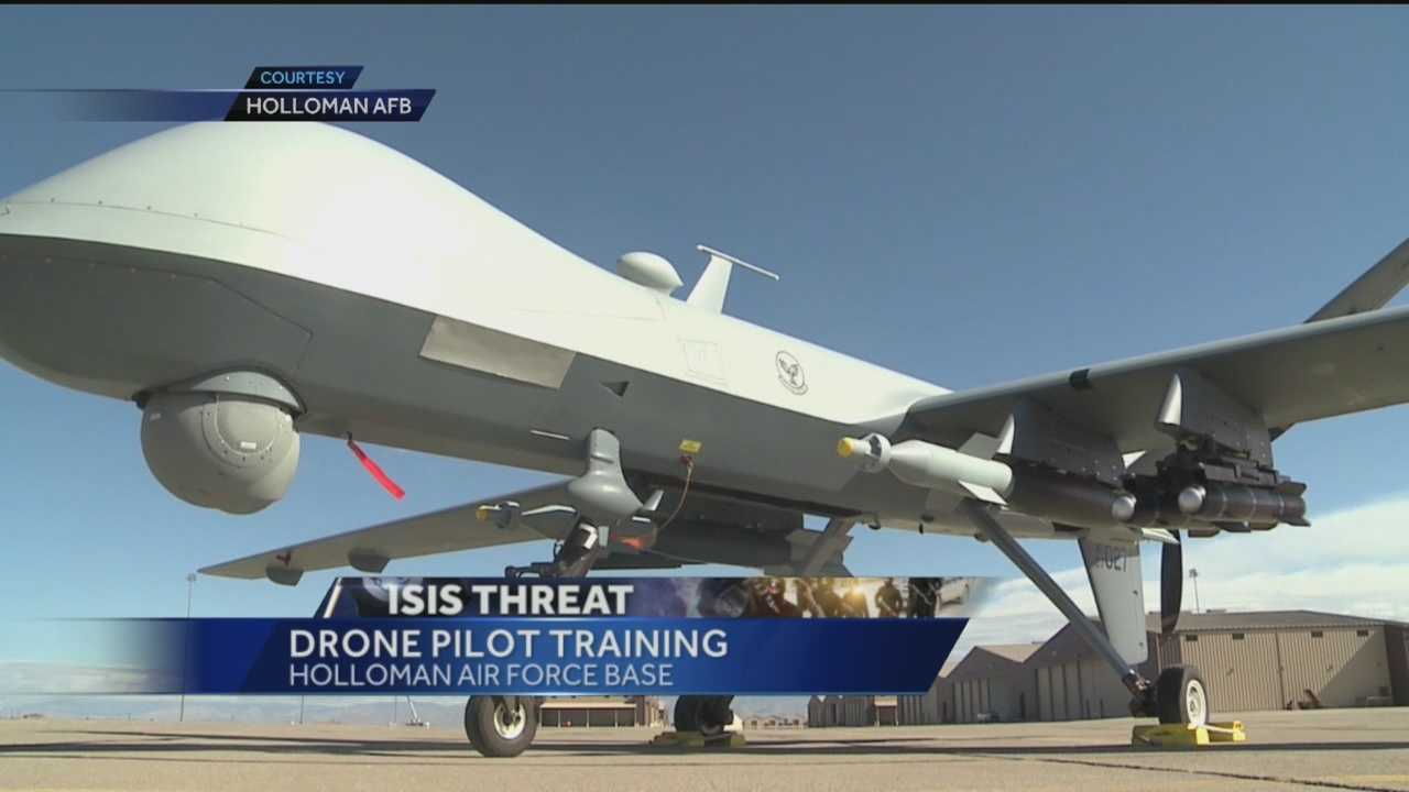 Before pulling off missions in places like Iraq or Syria, pilots are getting drone training right here in New Mexico.
