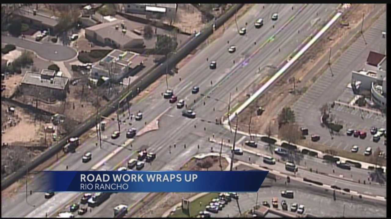 528 Construction Wraps Up