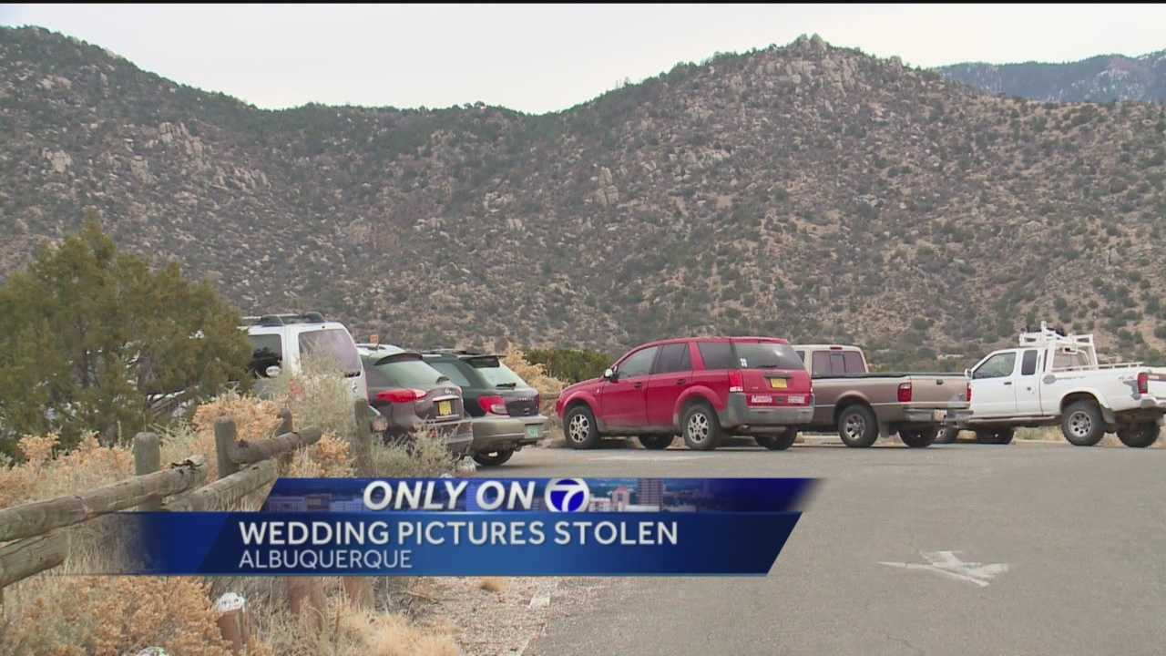 When a South Carolina couple taking a honeymoon road trip stopped in Albuquerque for a quick rest this week, their car was broken into.
