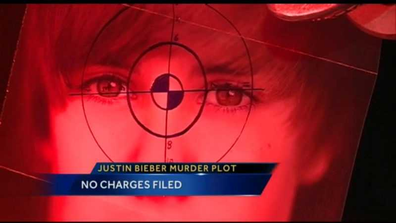 Tonight-no justice for Justin Bieber. Two years after an inmate in our state was recorded on prison telephone telling two hit men to kill the pop star, no charges have been filed.