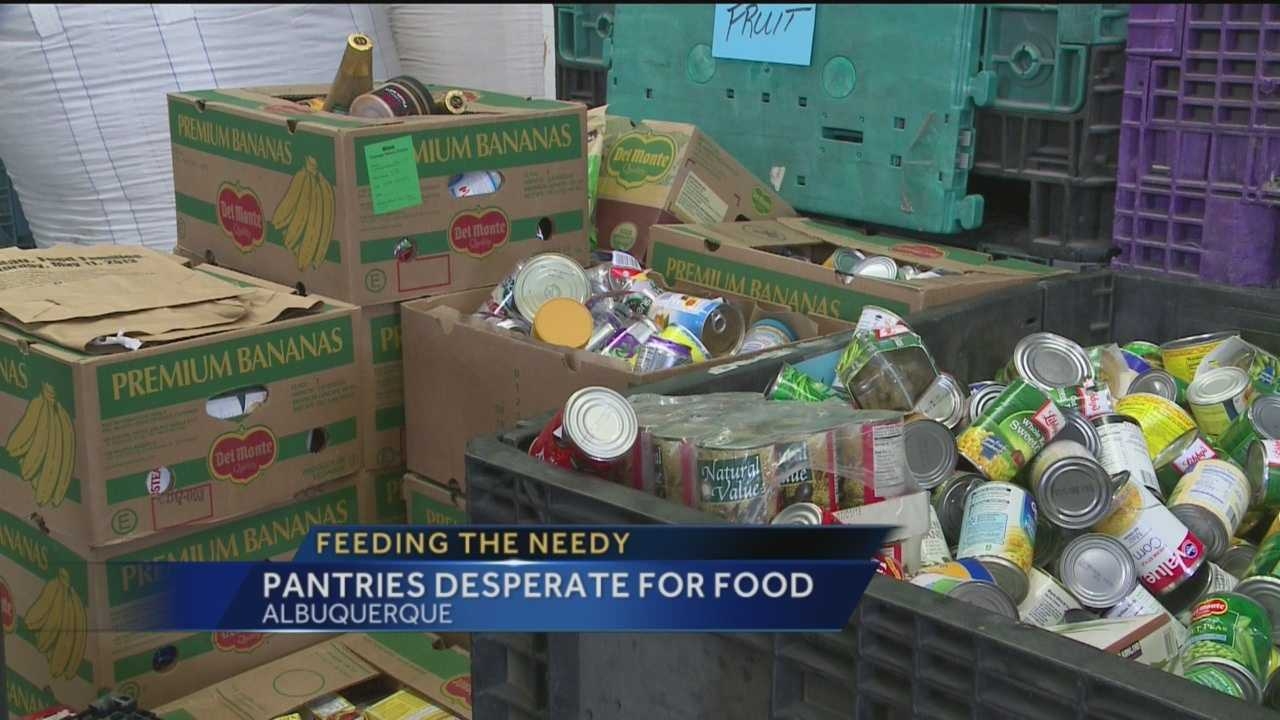 With just days to go until Thanksgiving, New Mexico food pantries are trying to get meals for those in need.