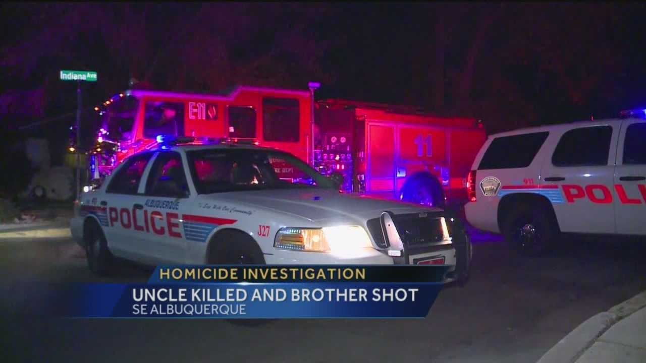 Albuquerque police are still piecing together what happened after two people were shot Monday night in a southeast Albuquerque neighborhood.