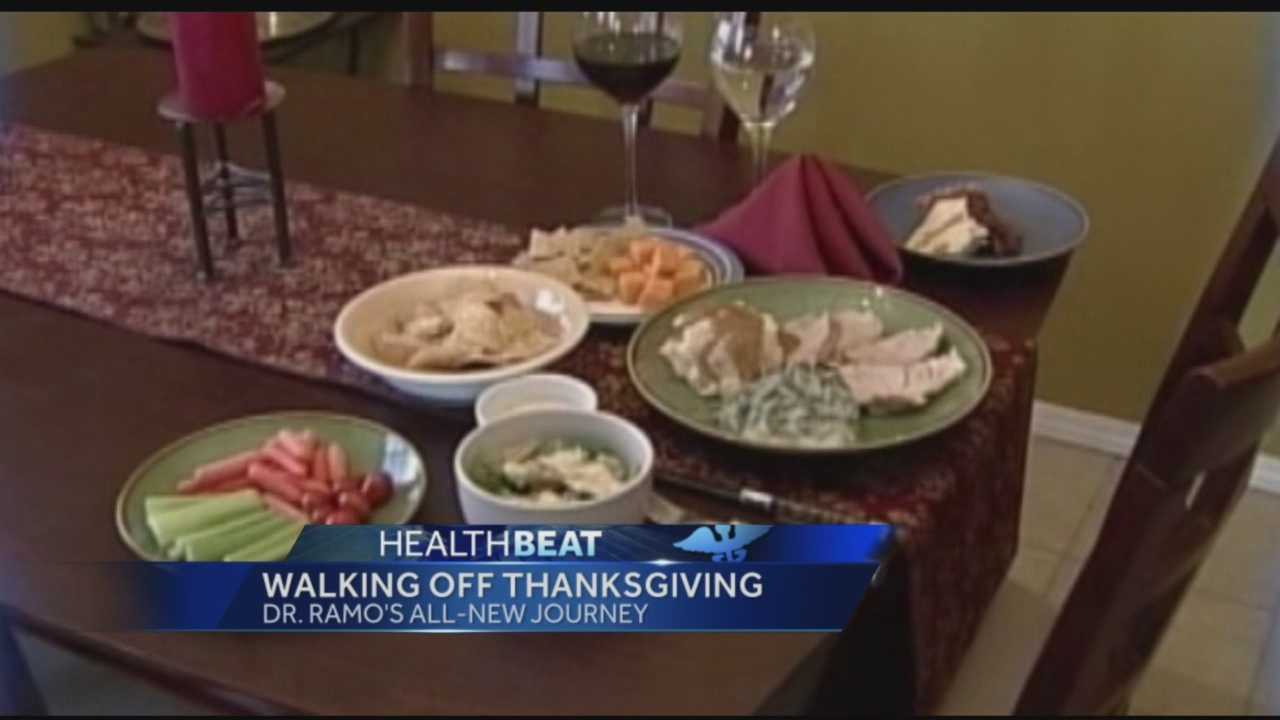 Many of us will sit down for some big Thanksgiving meals this week.