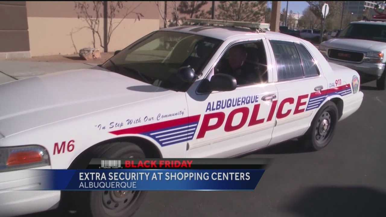 Albuquerque police plan to step up their patrols when the holiday shopping season kicks into high gear.