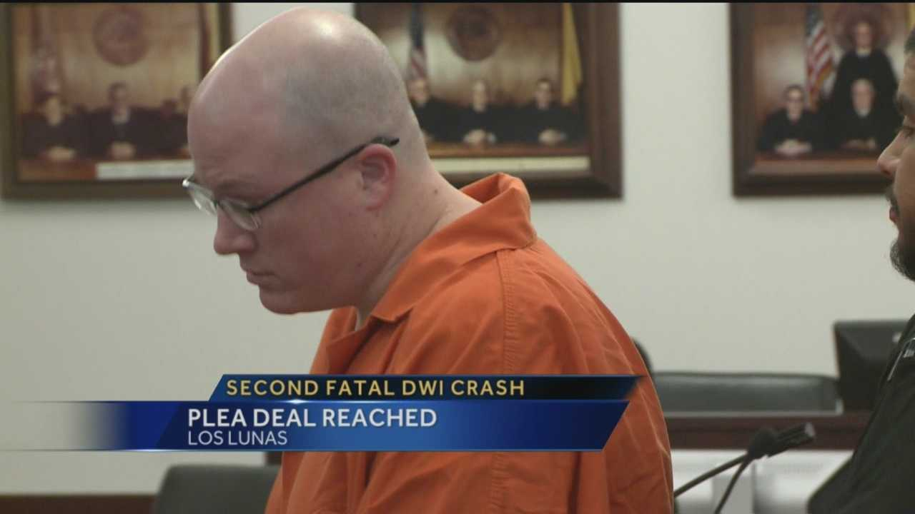 Two deadly DWI crashes and one man behind it. Jacob Williams reaches a plea deal after pleading guilty.