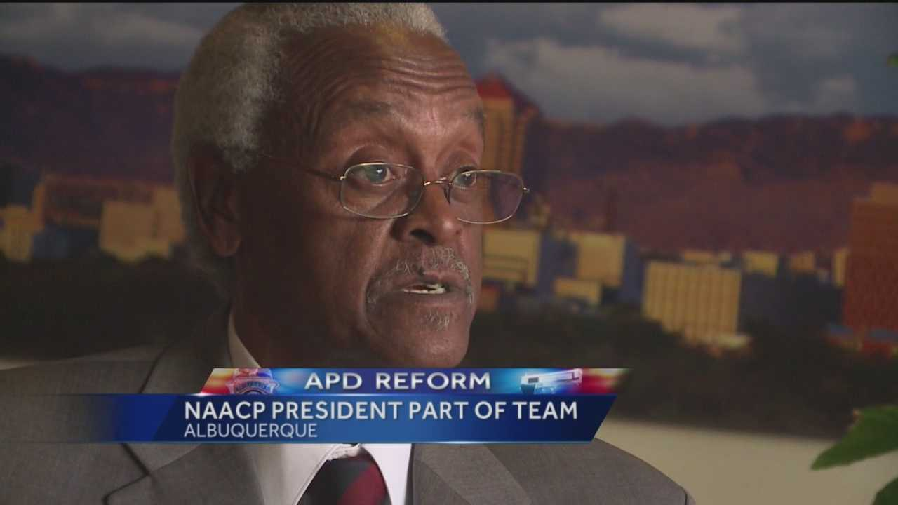The city hired local NAACP leader Dr. Harold Bailey as part of the team that will oversee changes within Albuquerque police.