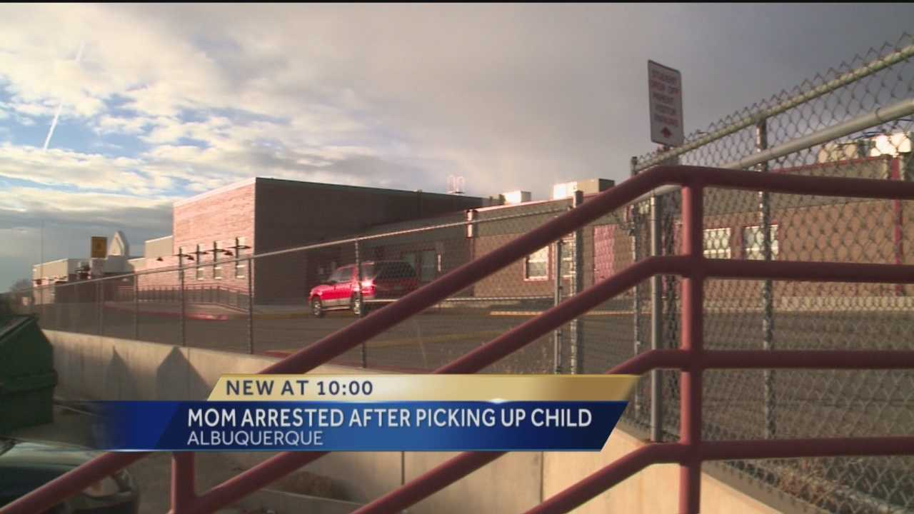 An Albuquerque mom faces a cruelty to children charge after school administrators said she appeared to be intoxicated while picking up her child from school.