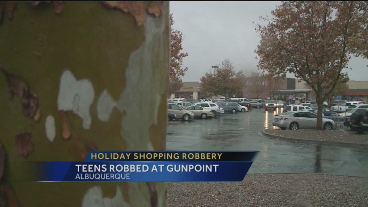 It's any shoppers nightmare.  Three teens were robbed at gunpoint after picking up an Xbox the night before black Friday.
