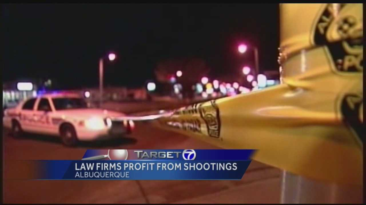 Officer involved shootings are devastating and controversial but for some local attorneys they're also very profitable.