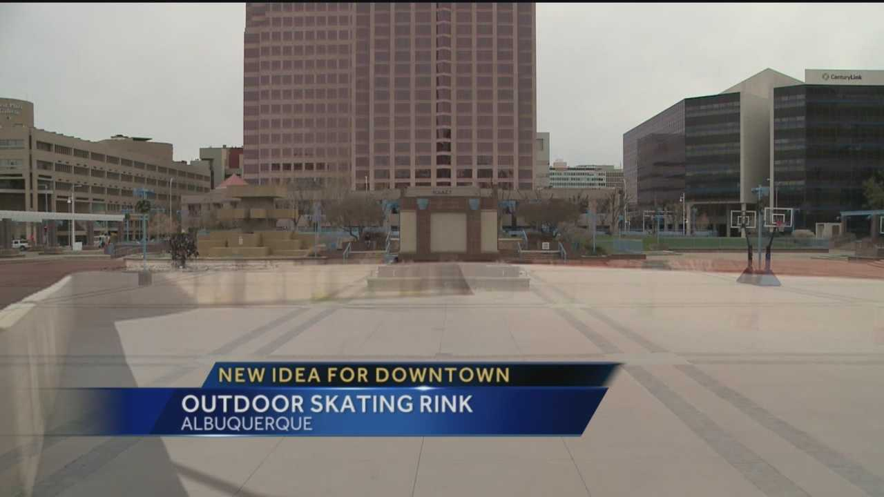 officials look to bring ice rink to civic plaza by christmas