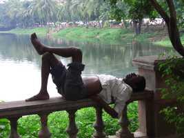 4. Naps improve your mood