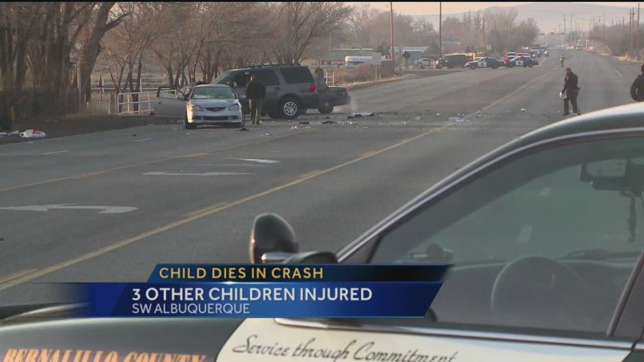 An 11-year-old girl was killed in a South Valley crash early Monday morning.