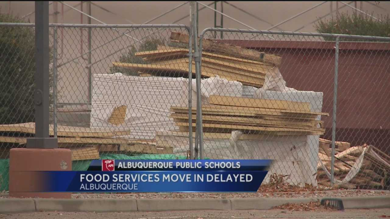 Albuquerque Public Schools makes more than 100,000 meals a day. The district is working on a new food processing center to help get meals to students more efficiently.