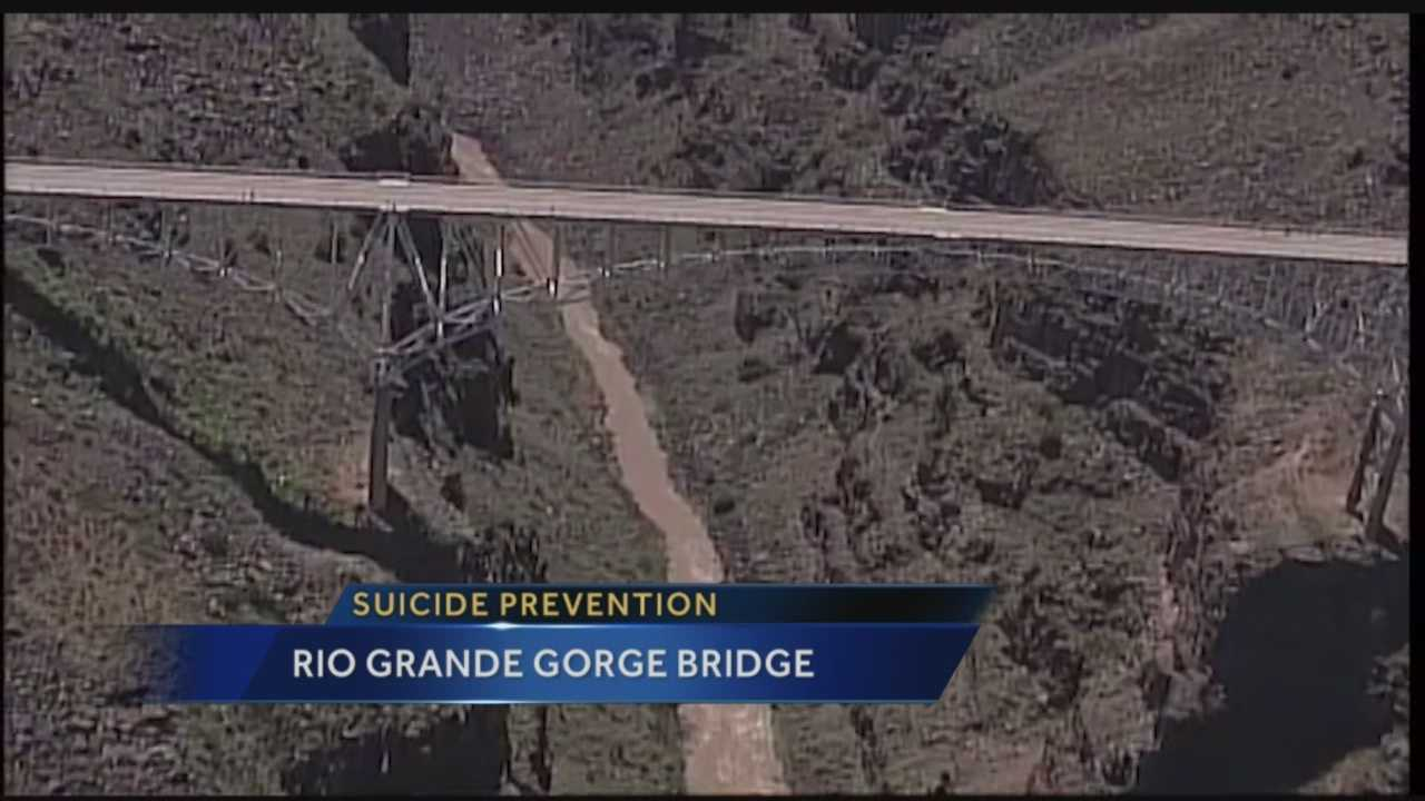 The Rio Grande Gorge Bridge is a big tourist attraction in northern New Mexico. Unfortunately, it's also known as a place where people jump to their death.