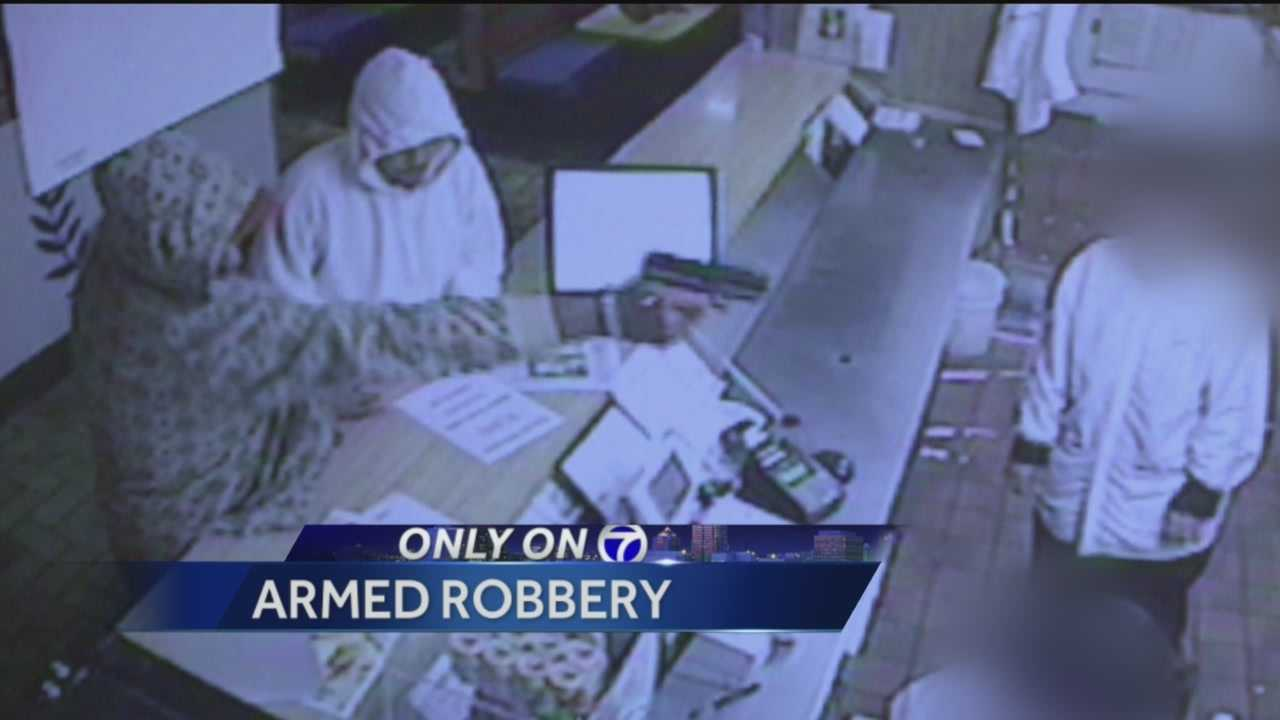 Detectives are searching for those responsible for a violent Wednesday armed robbery.