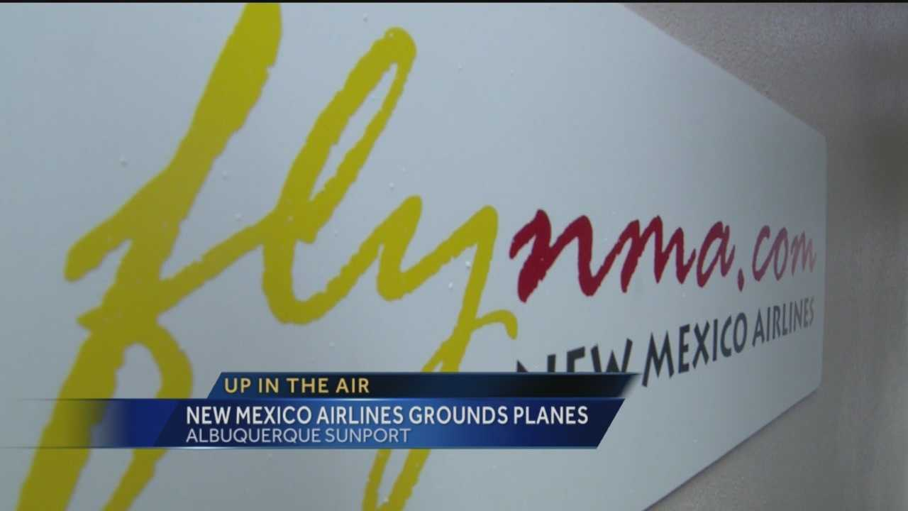 New Mexico Airlines has voluntarily grounded its planes and canceled its flights until further notice, according to the Federal Aviation Administration.