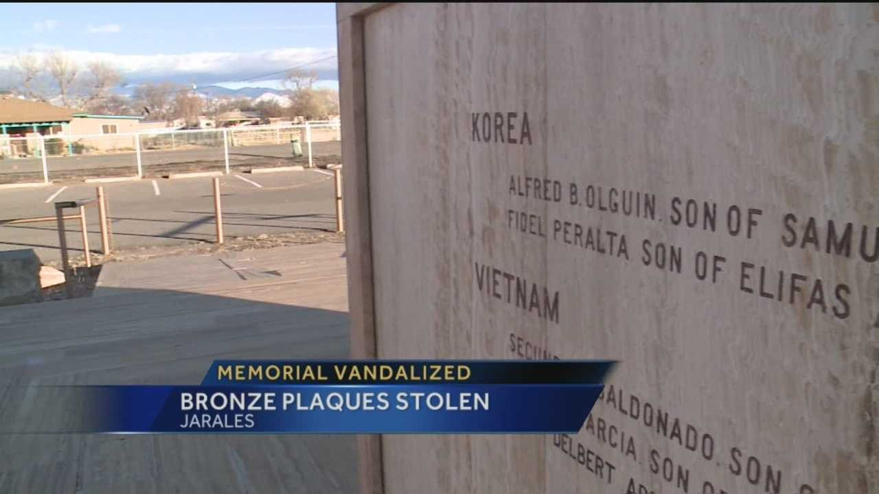 Vandals struck a war hero memorial in Valencia county. Action 7 News reporter Megan Cruz traveled to Jarales and spoke to a very angry veteran, searching for answers.