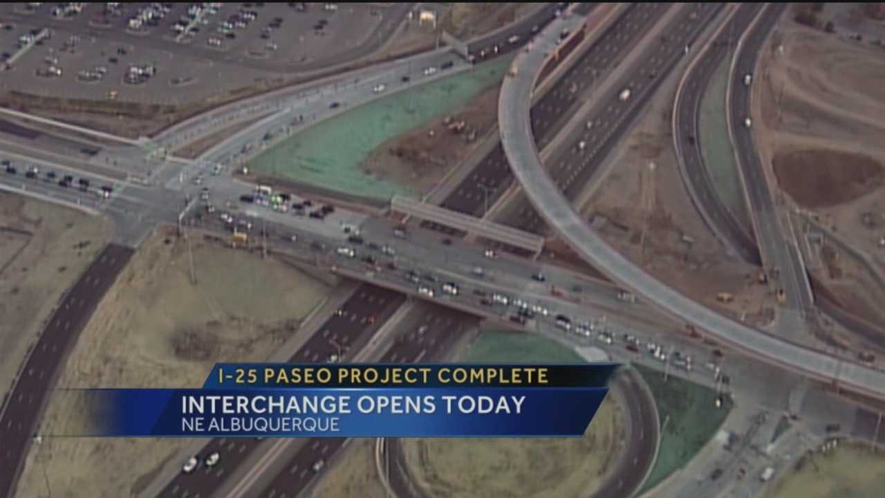 I-25 Paseo Project Complete