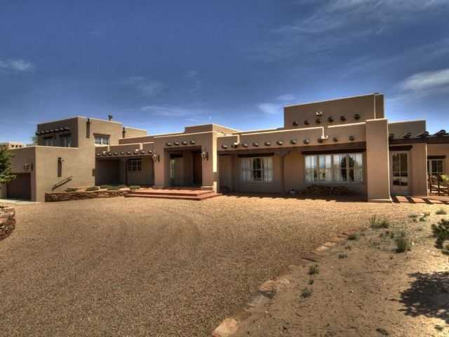Take a peek at this mansion for sale in Santa Fe that's featured on Realtor.com