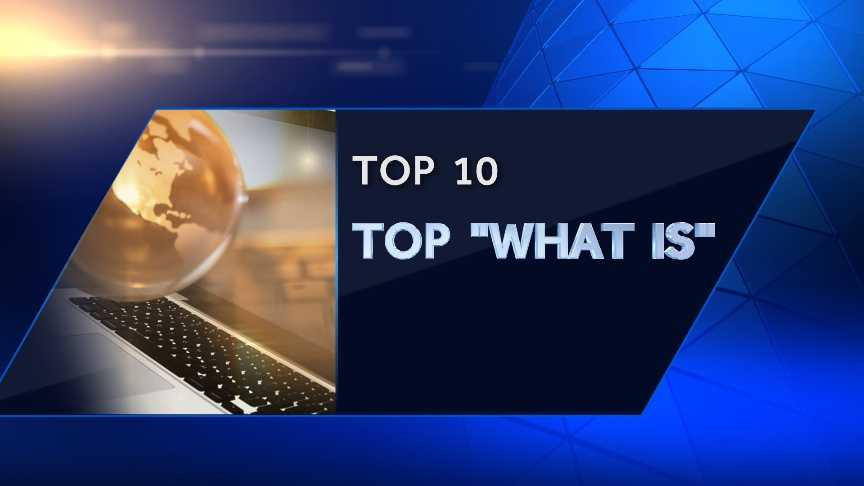 """Top Ten """"What Is"""" Searches"""