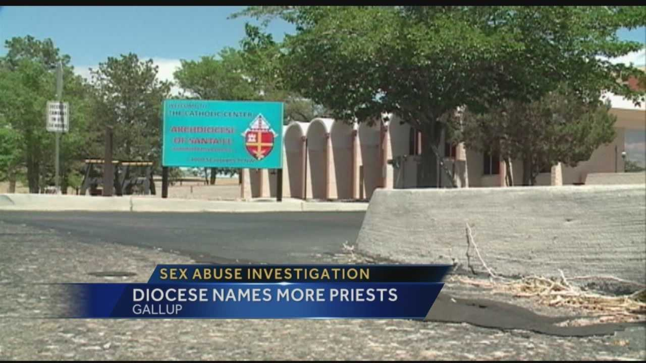 Tonight more priests are being linked to possible sex abuse in New Mexico.