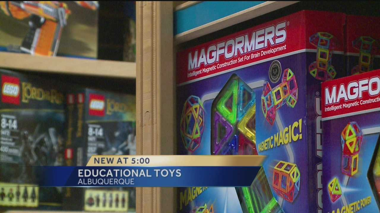 Out of the Blue Toys in the North Valley offers cool toys that are also educational. KOAT Action 7 News anchor Royale Da has the story.