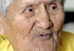 Navajo Code Talker Chester Nez dies at the age of 93.