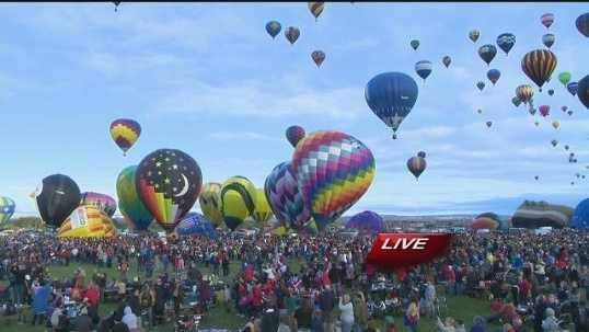Albuquerque International Balloon Fiesta. October, 2014.