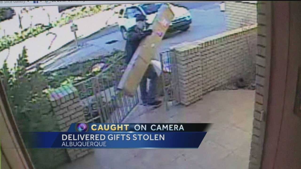 A lot of New Mexicans are putting up more than holiday decorations this year, adding security cameras to catch thieves.
