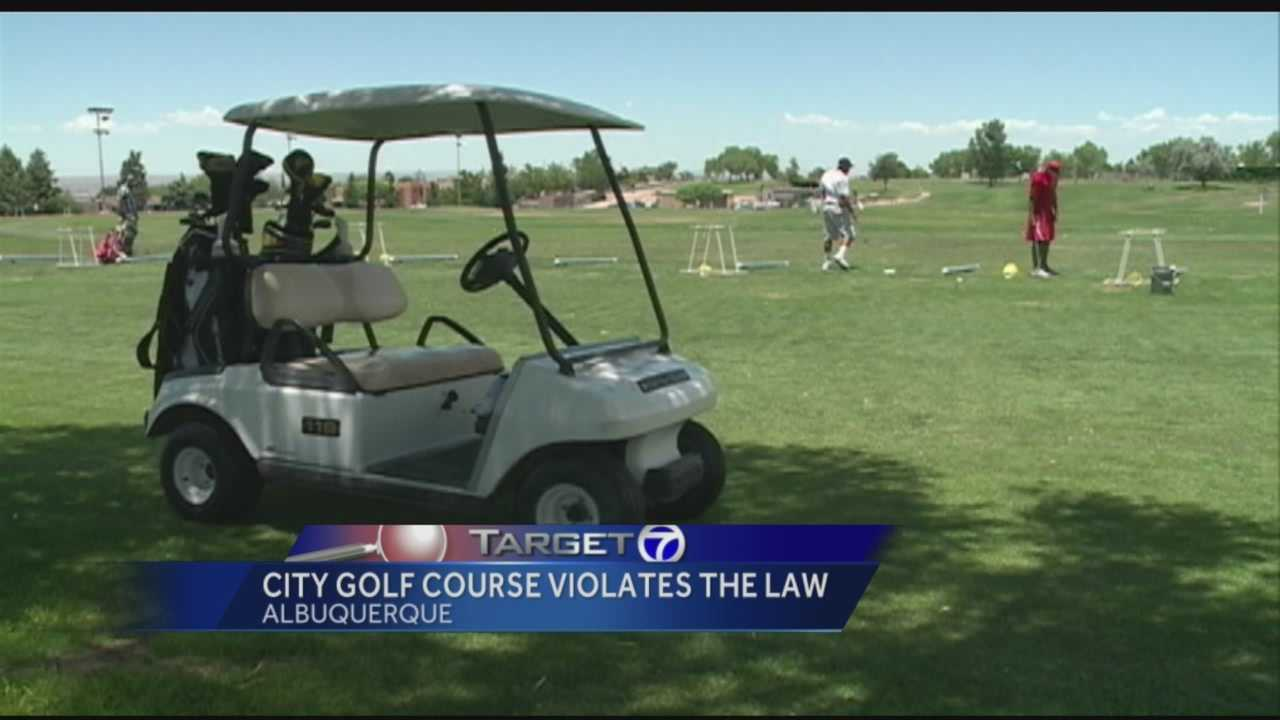 A report just released by the inspector general, uncovers big concerns at Albuquerque city golf courses.  Target 7 broke the story this summer about tens of thousands of dollars in revenue not collected from city golf courses.